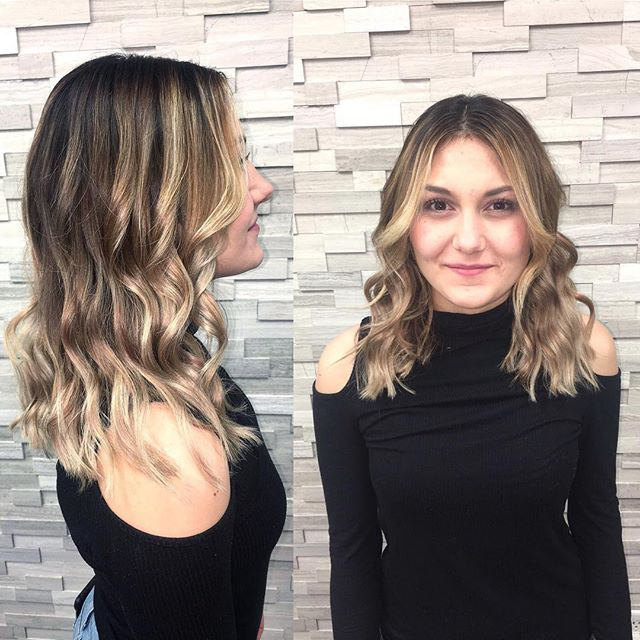 This was a multiple session color correction that was well worth the wait. Color correction by stylist Jessica Gossard of My Hair Therapy Sandy Luxury Hair Salon