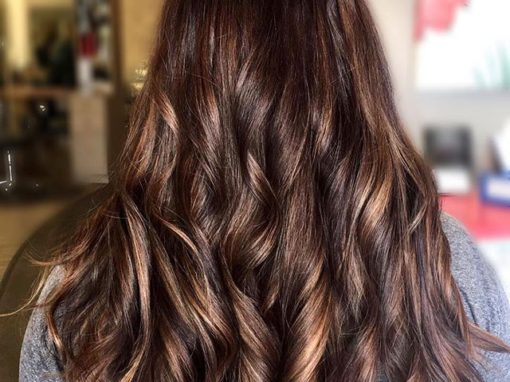 Caramel Macchiato Hair Color