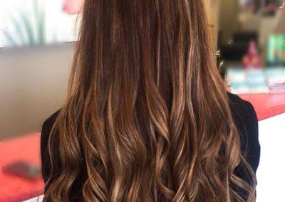 Sunkissed Brunette Custom Hair Color