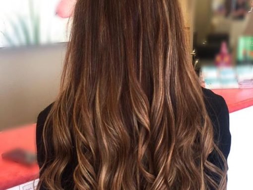 Sunkissed Brunette Custom Hair Color